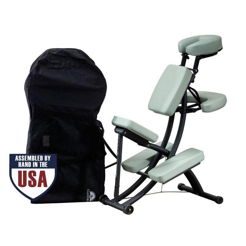 krzesło do masażu firmy oakworks