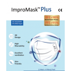 Maseczka ochronna ImproMask plus